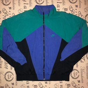 Vintage Nike Aquaberry Windbreaker